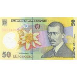 Rumania 50 Lei. 2005. SC. (Polymer). PIK. 120 a