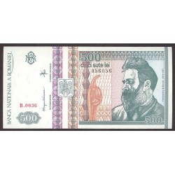 Rumania 500 Lei. 1992. SC. PIK. 101 b