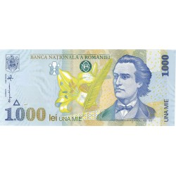 Rumania 1000 Lei. 1998. SC. PIK. 106