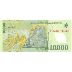 Rumania 10000 Lei. 2000. SC. (Polymer). PIK. 112 a