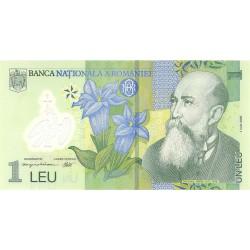 Rumania 1 Leu. 2005. SC. (Polymer). PIK. 117 a