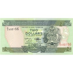 Salomon.-Islas 2 Dolar. 1986. (s/f). SC. PIK. 13 a