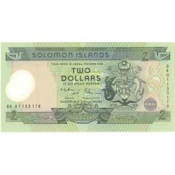 Salomon.-Islas 2 Dolar. 2001. (s/f). SC. (Polymer). PIK. 23