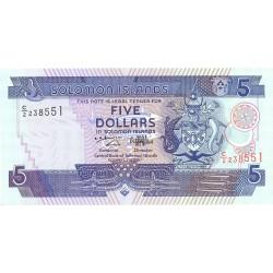 Salomon.-Islas 5 Dolar. 1997. (s/f). SC. PIK. 19