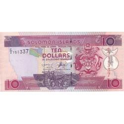 Salomon.-Islas 10 Dolar. 2001. (s/f). SC. PIK. Nuevo