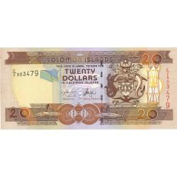 Salomon.-Islas 20 Dolar. 2001. (s/f). SC. PIK. Nuevo