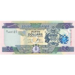 Salomon.-Islas 50 Dolar. 2001. (s/f). SC. PIK. Nuevo