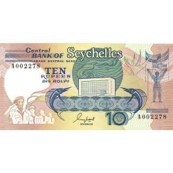 Seychelles.-Islas 10 Rupia. 1989. SC. PIK. 32