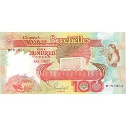 Seychelles.-Islas 100 Rupia. 1989. (s/f). SC. ESCASO/A. PIK. 35