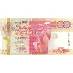 Seychelles.-Islas 100 Rupia. 1998. (s/f). SC. MUY ESCASO/A. PIK. 39