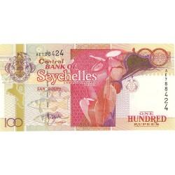 Seychelles.-Islas 100 Rupia. 2001. (s/f). SC. MUY ESCASO/A. PIK. 40