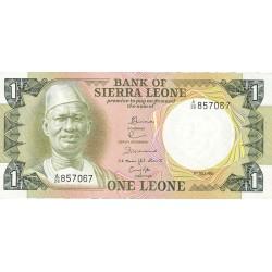 Sierra Leona 1 Leone. 1981. 01-07. SC. PIK. 5 d