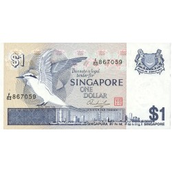 Singapur 1 Dolar. 1976. (s/f). SC. PIK. 9