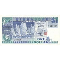 Singapur 1 Dolar. 1987. (s/f). SC. PIK. 18 a