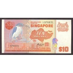 Singapur 10 Dolar. 1980. SC. PIK. 11 b