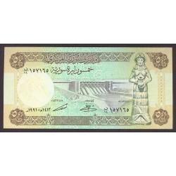 Siria 50 Libra/Pound. 1991. SC. PIK. 103 e