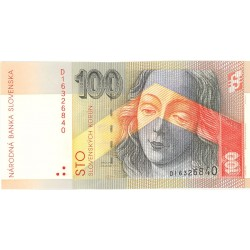 Slovaquia 100 Korun. 1993. 01-09. SC. PIK. 22