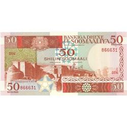 Somalia 50 Shilling. 1987. SC. PIK. 34 b