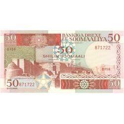 Somalia 50 Shilling. 1989. SC. PIK. 34 d