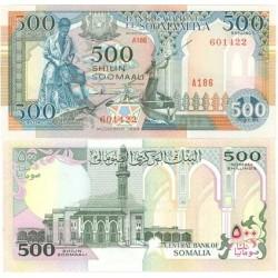 Somalia 500 Shilling. 1989. SC. PIK. 36