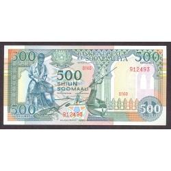 Somalia 500 Shilling. 1990. SC. PIK. 36 b