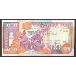 Somalia 1000 Shilling. 1990. SC. PIK. 37 a