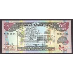 Somaliland 100 Shilling. 1996. SC. PIK. 5 b