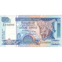 Sri Lanka 50 Rupia. 1992. 01-07. SC. PIK. 104