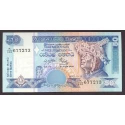 Sri Lanka 50 Rupia. 1995. SC. PIK. 110