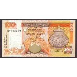 Sri Lanka 100 Rupia. 1995. SC. PIK. 111