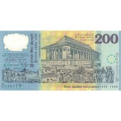 Sri Lanka 200 Rupia. 1998. 04-02. SC. (Polymer). PIK. 114 b