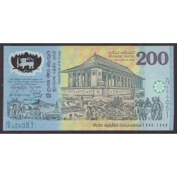 Sri Lanka 200 Rupia. 1998. SC. PIK. 114 b