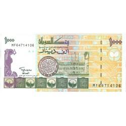 Sudan 1000 Dinar. 1996. AH-1416. SC. MUY ESCASO/A. PIK. 59