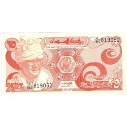 Sudan 25 Piastras. 1983. 01-01. SC. PIK. 23