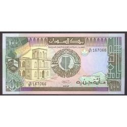 Sudan 100 Piastras. 1989. SC. PIK. 44 b