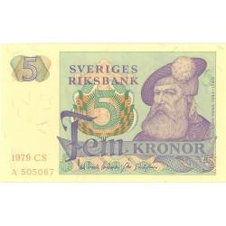 Suecia 5 Kronor. 1965. /74. SC. PIK. 51
