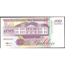 Surinam 100 Dolar. 1998. 10-02. SC. PIK. 139 d