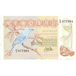 Surinam 2,5 Gulden. 1985. 01-11. SC. PIK. 119