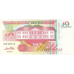 Surinam 10 Gulden. 1998. 10-02. SC. PIK. 137 d