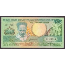 Surinam 25 Gulden. 1988. SC. PIK. 132 b