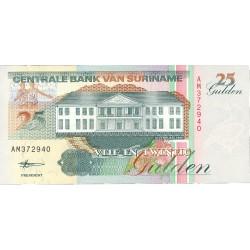 Surinam 25 Gulden. 1998. 10-02. SC. PIK. 138 d