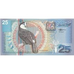 Surinam 25 Gulden. 2000. 01-01. SC. PIK. 148