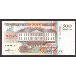 Surinam 500 Gulden. 1991. SC. PIK. 140