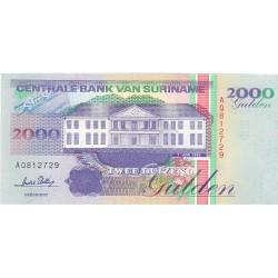 Surinam 2000 Gulden. 1995. SC. PIK. 142