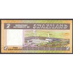 Swaziland 2 Emalangeni. 1984. SC. PIK. 8 b