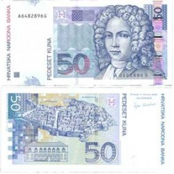Croacia 50 Kuna. 2002. 07-03. SC. PIK. 40 a