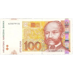 Croacia 100 Kuna. 2002. 07-03. SC. PIK. 41 a