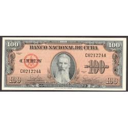 Cuba 100 Pesos. 1959. SC. PIK. 93 a