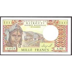 Djibouti 1000 Francos. 1979. SC. PIK. 37 d