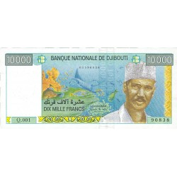 Djibouti 10000 Francos. 1999. (s/f). SC. PIK. 42